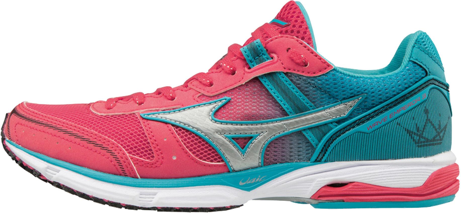 Wave Emperor Chaussures Roseturquoise 3 Mizuno Running Femme UMVSzpqG
